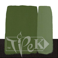 Акриловая краска Polycolor 140 мл 336 оксид хрома зеленый Maimeri Италия