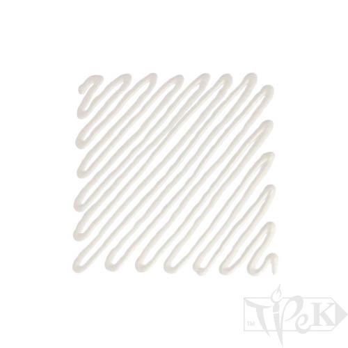 Рельєф для скла 017 білила платинові 20 мл туба з аплікатором Idea Vetro Rilievo Maimeri Італія