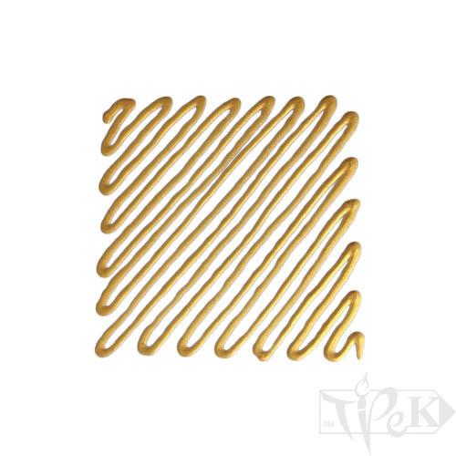 Рельєф для скла 137 золото світле 20 мл туба з аплікатором Idea Vetro Rilievo Maimeri Італія