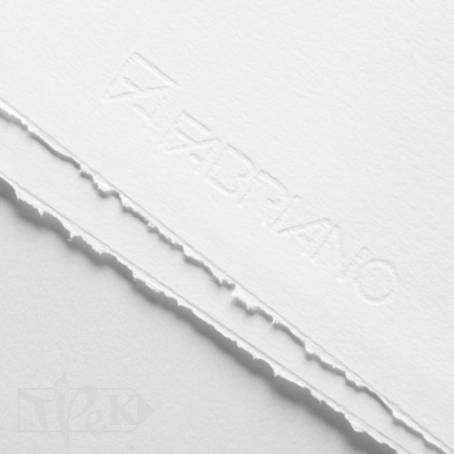 Папір офортний для друку Rosaspina 652 bianco 50х70 см 220 г/м.кв. 60% бавовна Fabriano Італія