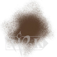 Акрилова аерозольна фарба 492 умбра палена 200 мл флакон з розпилювачем Idea Spray Maimeri Італія