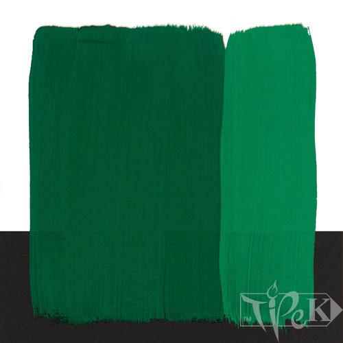 Темперная краска Tempera Fine 20 мл 305 зеленый темный яркий Maimeri Италия