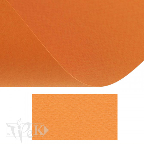 Папір кольоровий для пастелі Tiziano 21 arancio 70х100 см 160 г/м.кв. Fabriano Італія
