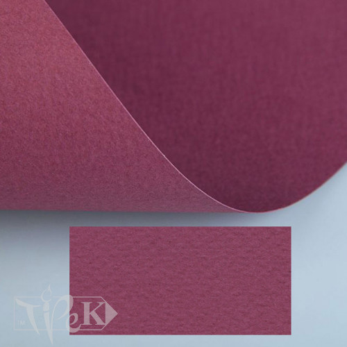 Папір кольоровий для пастелі Tiziano 23 amaranto 70х100 см 160 г/м.кв. Fabriano Італія
