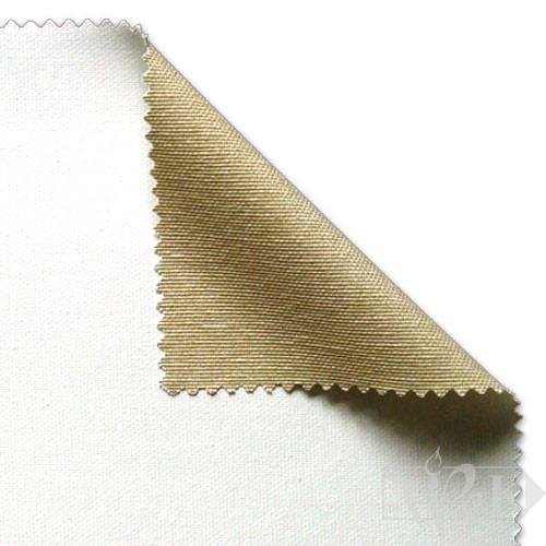 Холст грунтованный средняя зернистость хлопок универсальный грунт 10 м 330 см серый 325 г/м.кв. P.E.R. Belle Arti Италия