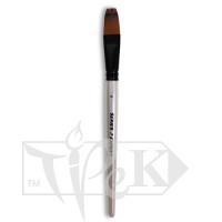 Кисточка «Expert» Series 07 Разноуровневая Синтетика плоская № 18 двухцветный ворс