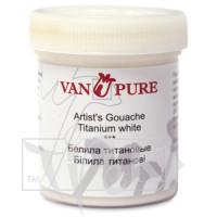 Гуашевая краска Van Pure 40 мл 044 белила титановые