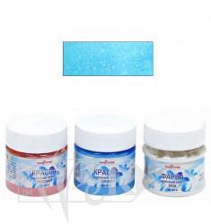 1050015 Краска «Морозный эффект» синяя 50 мл Van Pure