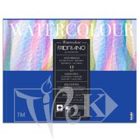 17312432 Альбом для акварели Watercolour 24х32 см 300 г/м.кв. 12 листов склейка Fabriano Италия