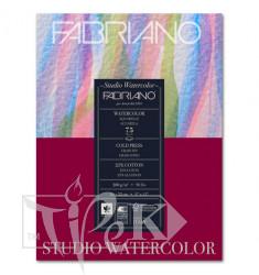 17522432 Альбом для акварелі Watercolour 24х32 см 200 г/м.кв. 75 аркушів склейка Fabriano Італія
