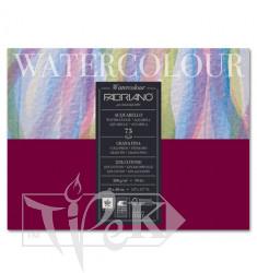 17523040 Альбом для акварелі Watercolour 30х40 см 200 г/м.кв. 75 аркушів склейка Fabriano Італія