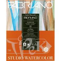 19123003 Альбом для акварели Studio 28х35,6 см 300 г/м.кв. 12 листов Fabriano Италия