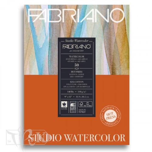 19503004 Альбом для акварелі Studio 22,9х30,5 см 300 г/м.кв. 50 аркушів Fabriano Італія