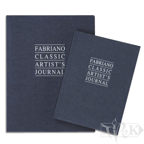 48121630 Альбом для ескізів і сухих технік Artist's Journal 12х16 см 90 г/м.кв. 192 аркуша Fabriano Італія