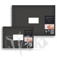11480021 Альбом для акварелі Watercolour Book А5 (14,8х21 см) 300 г/м.кв. 25 аркушів на спіралі Fabriano Італія