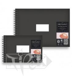 11480021 Альбом для акварели Watercolour Book А5 (14,8х21 см) 300 г/м.кв. 25 листов на спирали Fabriano Италия