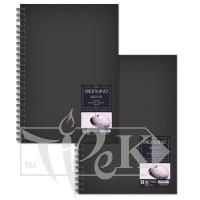 28010550 Альбом для эскизов Sketch Book А6 (10,5х14,8 см) 110 г/м.кв. 80 листов в твердом переплете на спирали по длинной стороне Fabriano Италия