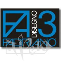 00000093 Бумага цветная для пастели Disegno 3 nero 50х70 см 125 г/м.кв. Fabriano Италия