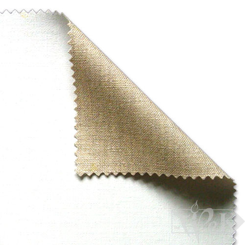 Холст грунтованный средняя зернистость лен универсальный грунт 10 м 215 см серый 584 г/м.кв. P.E.R. Belle Arti Италия
