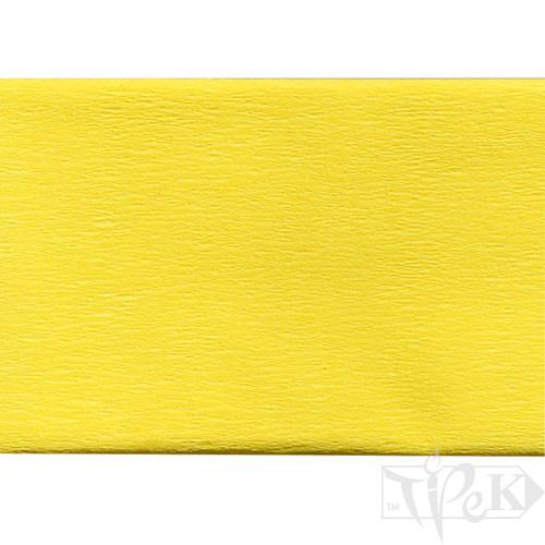 Бумага креповая желтая 50х200 см 35 г/м.кв. «Трек» Украина