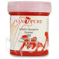 Гуашевая краска Van Pure 40 мл 022 ярко-красная