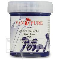 Гуашевая краска Van Pure 40 мл 035 синяя темная