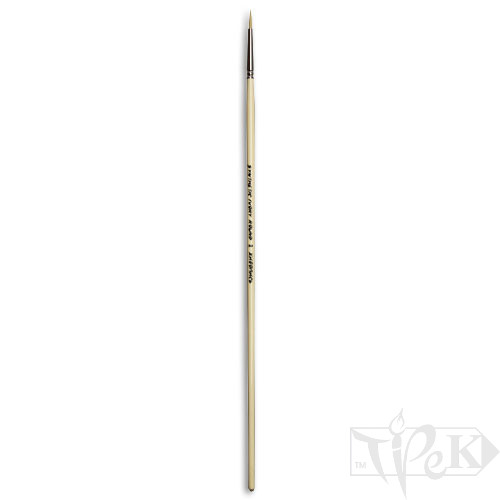 Кисточка Ivory «Живопись» 1311 Синтетика круглая № 02 длинная ручка бежевый ворс