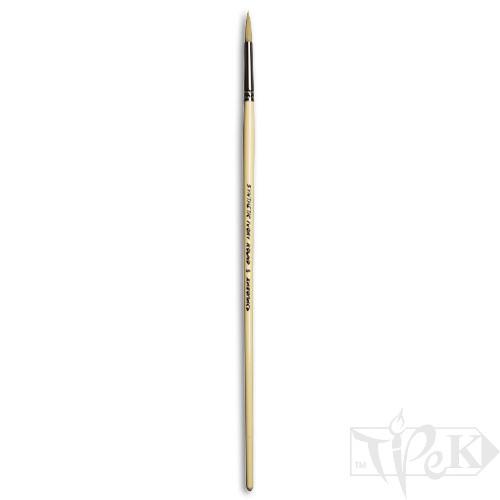 Кисточка Ivory «Живопись» 1311 Синтетика круглая № 05 длинная ручка бежевый ворс