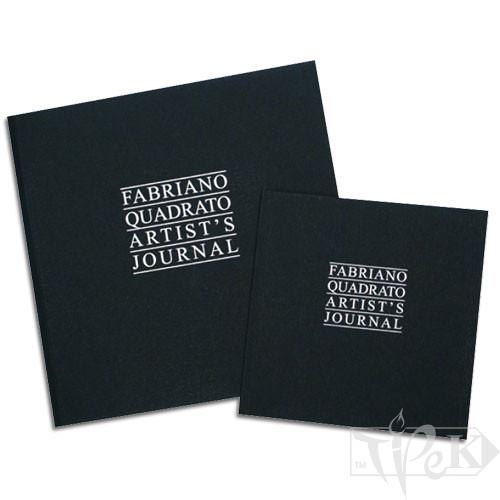 48441616 Альбом для ескізів і сухих технік Artist's Journal 16х16 см 90 г/м.кв. 96 аркушів Fabriano Італія