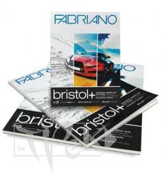 19002129 Альбом для малювання Bristol А4 (21х29,7 см) 250 г/м.кв. 20 аркушів склейка Fabriano Італія