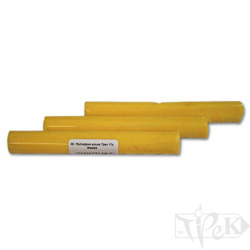 Полимерная глина 06 желтая 17 г «Трек» Украина