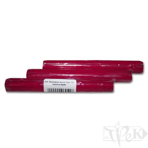 Полимерная глина 10 красная бордо 17 г «Трек» Украина