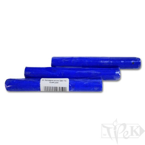 Полимерная глина 18 синяя циан 17 г «Трек» Украина