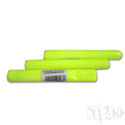 Полимерная глина 02 лимонная флуоресцентная 17 г «Трек» Украина