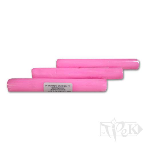 Полімерна глина 04 світло-рожева флуоресцентна 17 г «Трек» Україна