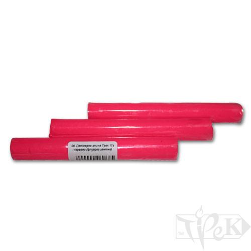Полімерна глина 06 червона флуоресцентна 17 г «Трек» Україна