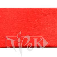 Бумага креповая ярко-красная 50х200 см 35 г/м.кв. «Трек» Украина