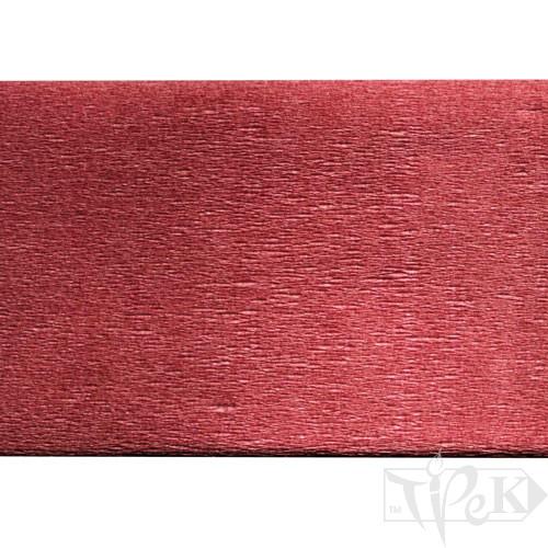 Бумага креповая бордовая 50х200 см 35 г/м.кв. «Трек» Украина