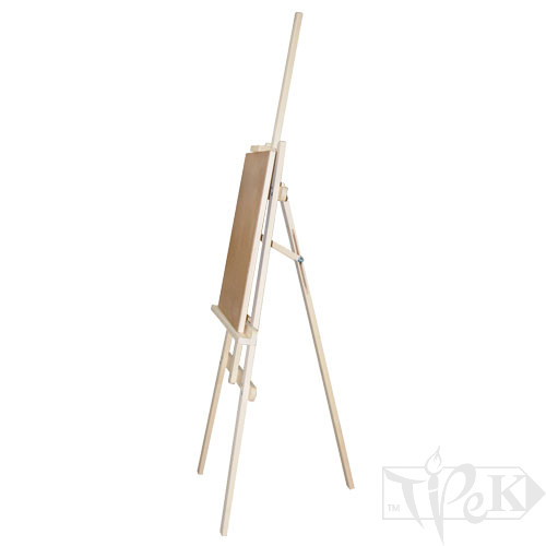 Мольберт студийный А-подобный №41-М сосна (планшет 40х50 см) Украина