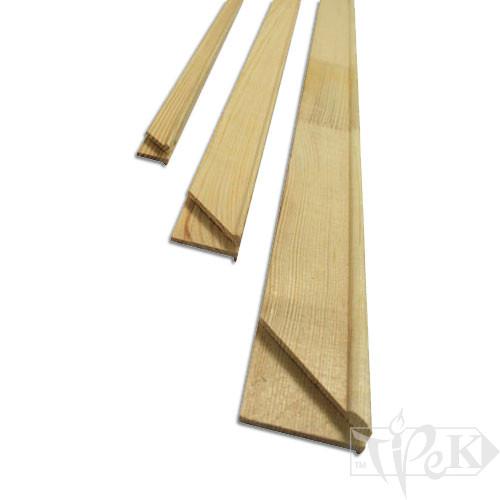 Планка для подрамника 120 см овал 40х17 Украина