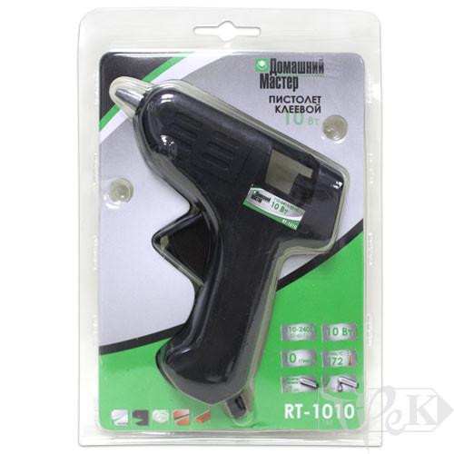 Клеєвий пістолет «Домашний Мастер» RT-1010 10 Вт Ø7-8 мм