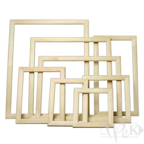 Багетна рамка 25х25 см (планка 25х16) сосна