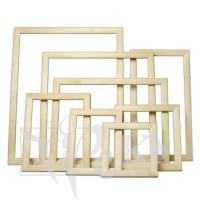 Багетная рамка 40х40 см (планка 25х16) сосна