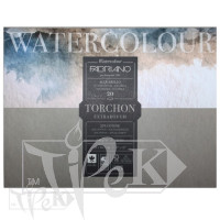 19100277 Альбом для акварели Watercolour Torchon Extra Rough 30,5х45,5 см 300 г/м.кв. 20 листов Fabriano Италия