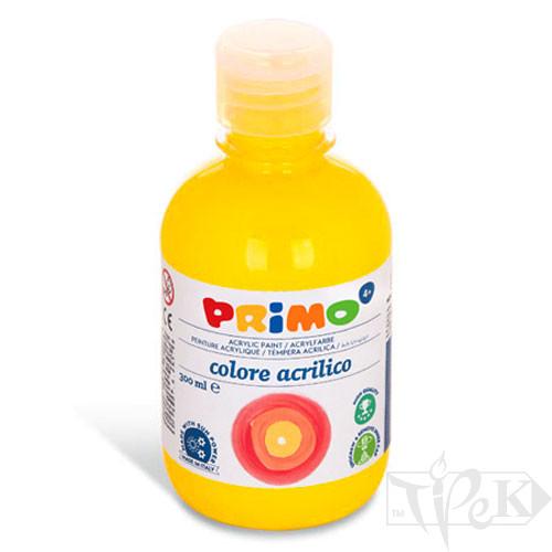 Акрилова фарба 300 мл 201 жовтий основний Primo Італія