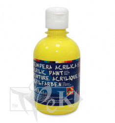 Акрилова фарба 300 мл 211 жовтий лимонний Primo Італія