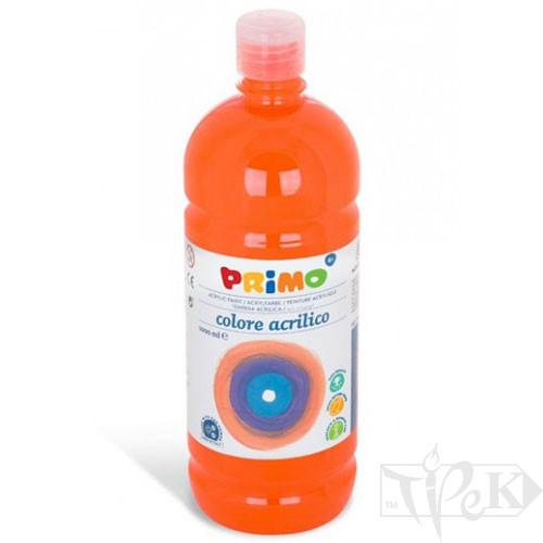Акрилова фарба 1000 мл 250 помаранчевий Primo Італія