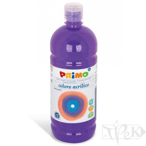 Акрилова фарба 1000 мл 400 фіолетовий Primo Італія