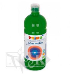 Акриловая краска 1000 мл 630 зеленый темный Primo Италия