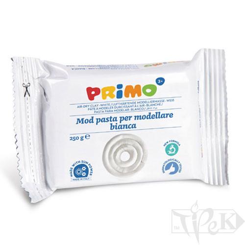 Глина моделирующая белая 250 г Primo Италия